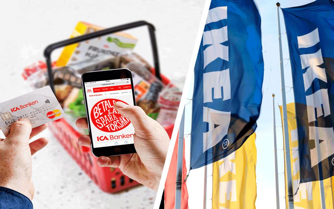 Ikea och Ica lanserar ny hypoteksbank kring bolån